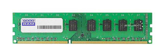 Memory RAM 1x 2GB GoodRAM ECC UNBUFFERED DDR3  1333MHz PC3-10600 UDIMM | W-MEM1333E32G