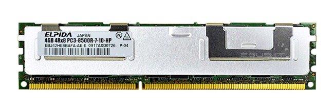 Memory RAM 1x 8GB Micron ECC REGISTERED DDR3  1333MHz PC3-10600 RDIMM   MT36KSF1G72PZ-1G4