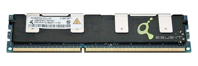 Memory RAM 1x 8GB QIMONDA ECC REGISTERED DDR3  1066MHz PC3-8500 RDIMM | IMHH8GP22A1F2CL-10F